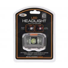 Челник NGT Led Headlight With White and Red Light (100 lumens) Челници, лампи, фенери
