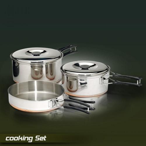 Комплект за готвене Starbaits Cooking Set Шаранджийски