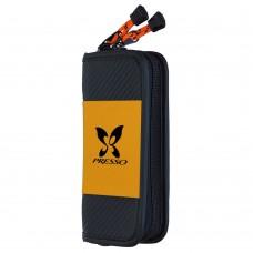 Класьор за блесни Daiwa Presso Wallet - Orange M Куфари, кутии, класьори