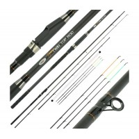 Въдица NGT Dinamic Twin Tip 3.30 м - 2 pcs Carbon Feeder / Match Rod