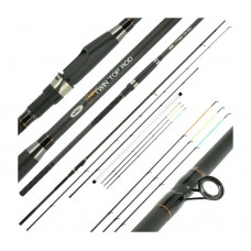 Въдица NGT Dinamic Twin Tip 3.30 м - 2 pcs Carbon Feeder / Match Rod Мачове и телемачове