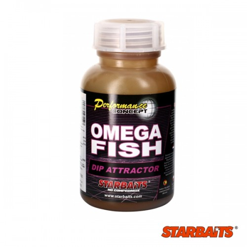 Дип за протеинови топчета Starbaits Omega Fish Дипове