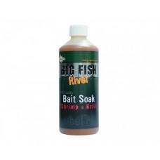 Атрактор Dynamite Big Fish River Soak - Shrimp & Krill Добавки и атрактанти