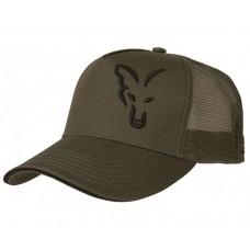 Лятна шапка с козирка FOX Green & Black Trucker Cap Шапки и ръкавици