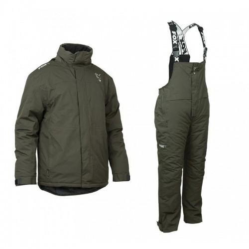 Зимен комплект за риболов 2020 Fox Green & Silver Suit Дрехи