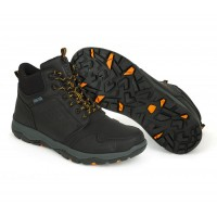 Oбувки Fox Collection Black & Orange Mid Boots