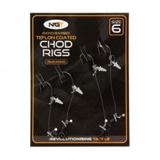 Вързани Чод Риг NGT CHOD RIGS - 2 Short and 2 Long Вързани куки