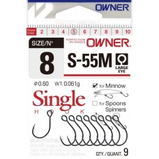 Куки Owner Single Hook S 55M Единични
