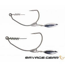 Офсетна кука Savage Gear Weedless EWG Hooks 3 гр; # 6/0