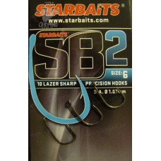 Шаранджийски куки Starbaits SB2 РИБОЛОВНИ КУКИ