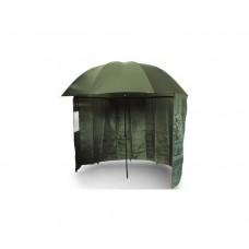 """Чадър с тента NGT 45"""" Green Brolly Tent Други"""