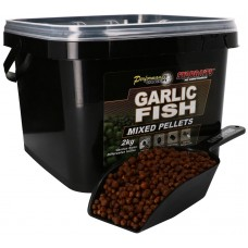 Пелети Starbaits Garlic & Fish Mixed Pellets 2 кг