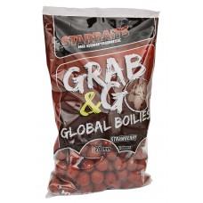 Протеинови топчета Starbaits Grab & Go Global Strawberry Протеинови топчета