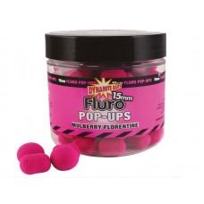 Плуващи топчета  Dinamite Baits Mulberry Florentine Pop-ups & Dumbells Плуващи топчета Pop Up