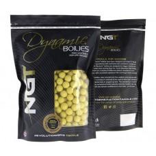 Протеинови топчета NGT Dynamic Boilies Banana & Hazelnut 15 мм Протеинови топчета