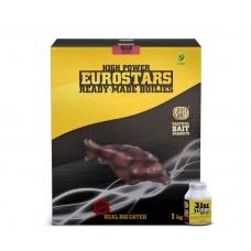 Протеинови топчета SBS Eurostar Boili Strawbery Jam + 50 ml Dip Протеинови топчета