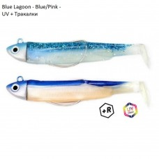Силиконова примамка Fiiish Black Minnow No3 Double Combo - 12 см, 18 гр