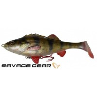Силиконова примамка Savage Gear 4D Perch Shad 12.5 SS