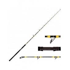 Въдица за риболов на сом Hakuyo Black Cat Pro Mix Риболов на сом
