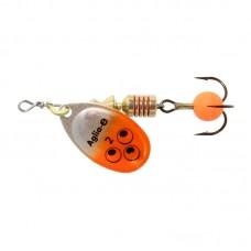 Блесна Mepps Aglia E AG, orange bright Блесни, цикади, клатушки
