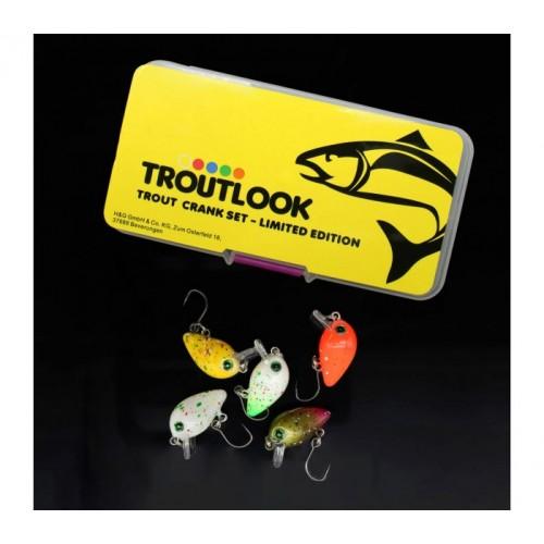 Комплект воблери за пъстърва Trout Crank Set Limited Edition Воблери
