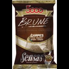 Захранка Sensas 3000 Brune Carp/ шаран Захранки и миксове