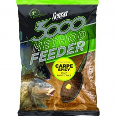 Захранка Sensas Method Feeder Fishmeal Carp Spicy Захранки и миксове