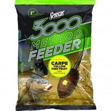 Захранка Sensas Method Feeder Fishmeal Carp Yellow Fish Fruit Захранки и миксове